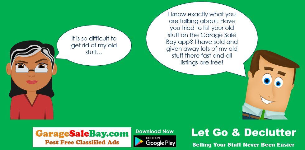 Let Go & Declutter - GarageSaleBay.com